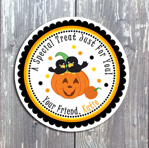 Halloween Tags and Stickers II-Halloween, tags, stickers, holiday
