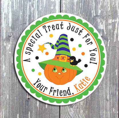 Halloween Tags and Stickers III-Halloween, tags, stickers, holiday