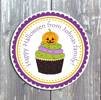 Halloween Tags and Stickers IV